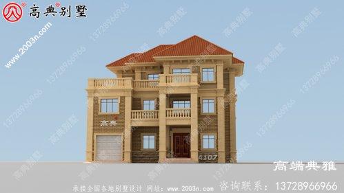 新农村建设个人别墅建筑设计施工图纸,整套别