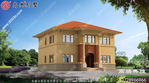 简欧三层别墅的设计,持有别墅的