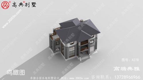 三层中式别墅复式设计方案,全套