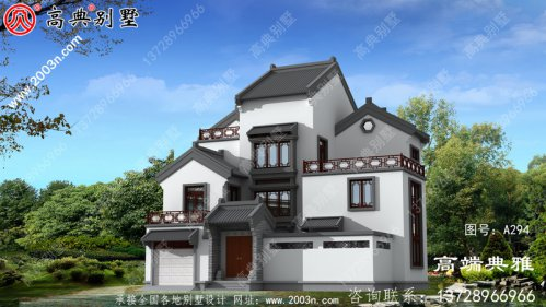 建造中式三层房屋设计图,楼中楼设计方案