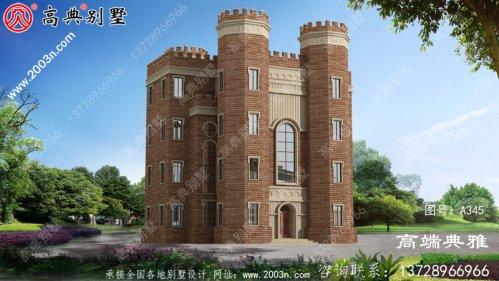 农村三层的设计图,建造农村房屋最重要的是舒