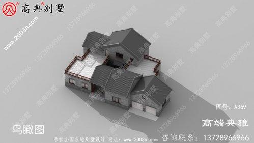 中式精致的两层农村自建住宅设计,带储藏室