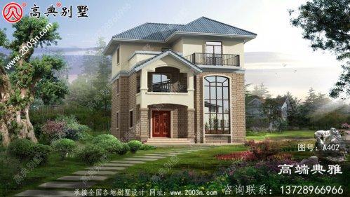 简欧复式三层小别墅方案设计和设计效果图