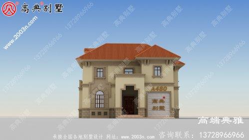 漂亮又简单的二层楼房设计,经济