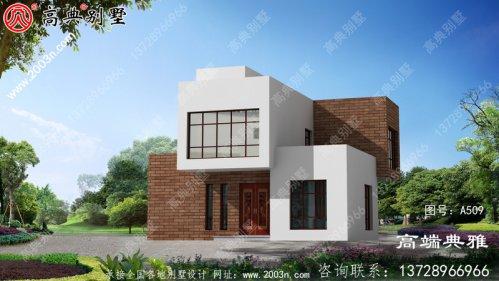 新农村建设新现代三层别墅设计方