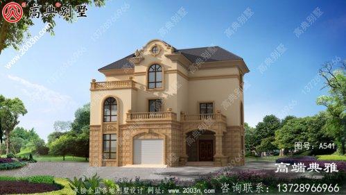 新农村建设三层房屋设计图纸全集
