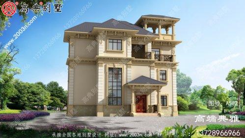 欧式三层别墅图片大全及整套施工
