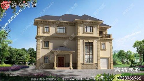 40万内乡村欧式三层房子最新款照