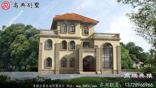 高级豪宅三层别墅自营设计图,大户型经典