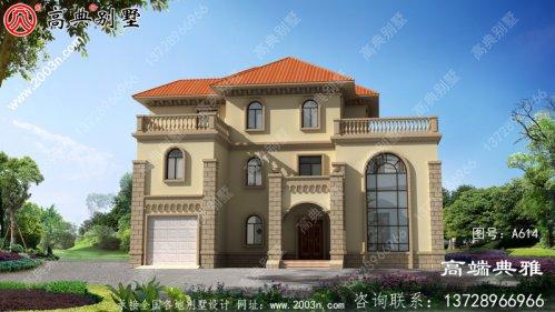 三层豪宅设计图,自建别墅强烈推
