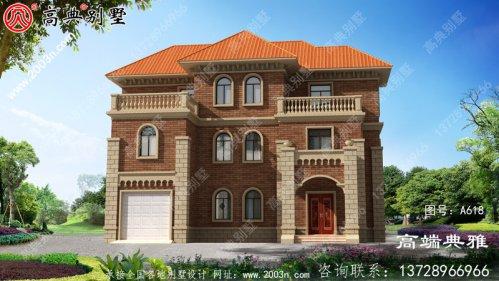 三层豪宅欧式设计图,建别墅推荐户型