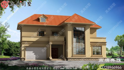 二层楼房设计图,40万内就能够建,占地227平