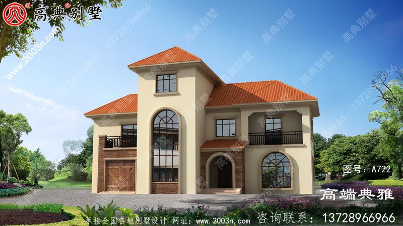 193平三层楼房设计图,新农村住宅建造强烈推荐