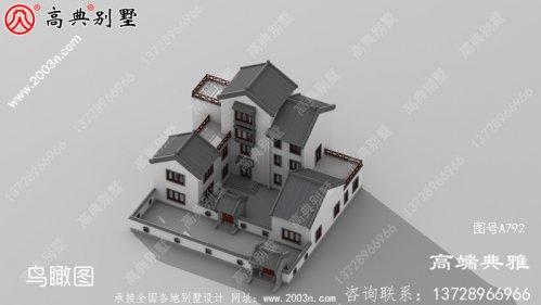 带露台的中式别墅图片及设计图,户型方案比较