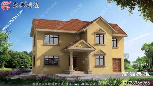 新农村三层住宅设计图纸大全(含