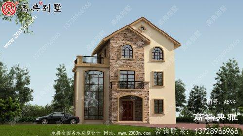三层别墅设计图纸推荐用于单户别墅设计,造价