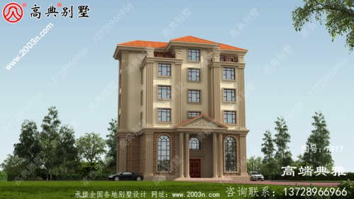 五层楼房设计图含设计效果图,房型經典