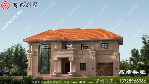 乡村自建欧式三层别墅设计效果图