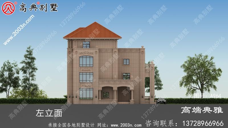 农村四层住宅设计图,外观照片,新型户型