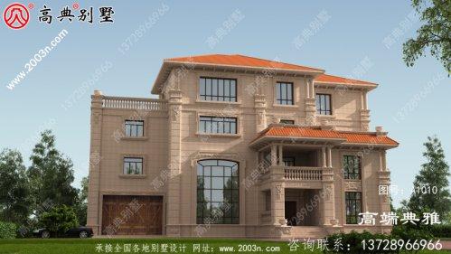 两层别墅设计平面图、平面设计用cad施工图和外
