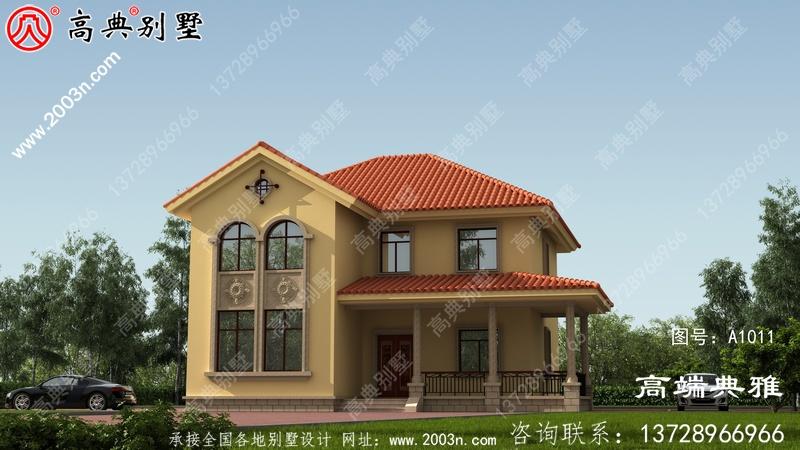 最新的三层农村别墅设计图纸推荐农村自建。