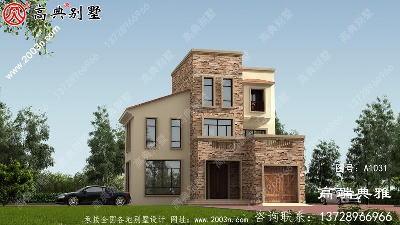 117平方米小户型三层欧式别墅设计图,农村小别墅經典房型图