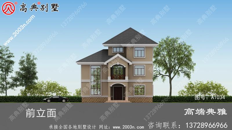 137平方米楼宇设计图,复式小别墅典型布局图
