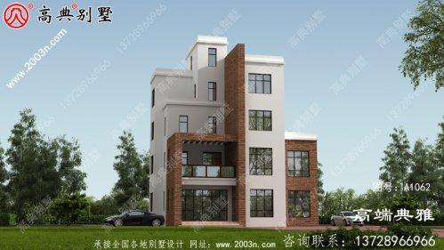 占地102平五层现代住宅设计图,推荐农村自营别