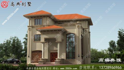 三层楼房设计图纸,农村理想住房