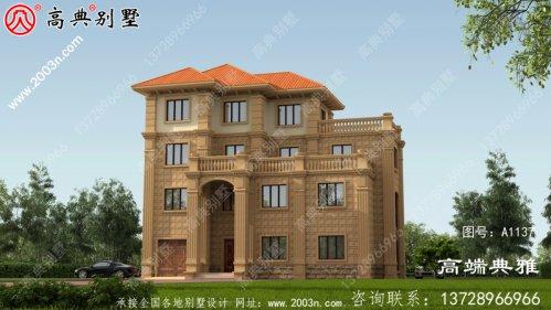 新豪华四层别墅设计图纸,低调不失大气