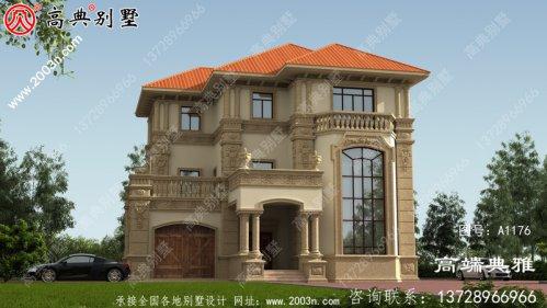 188平农村建设自建房设计图,含外