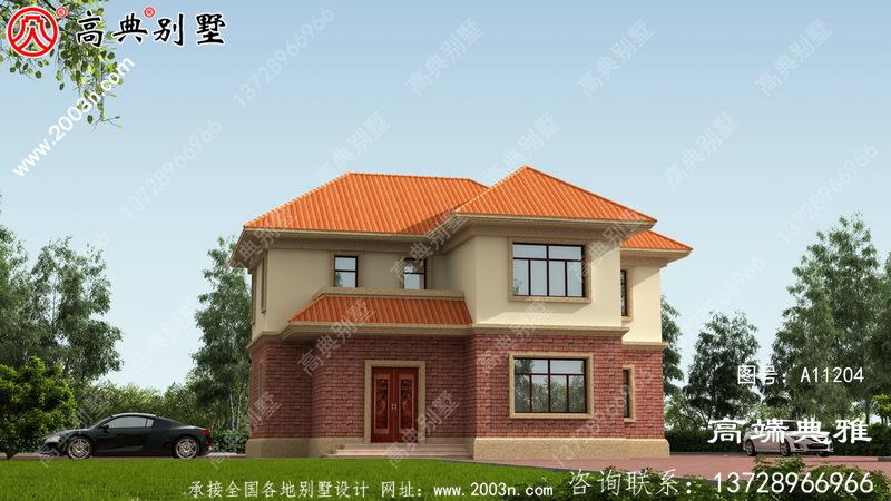1131平方米的三层别墅设计图,功能齐全造价低