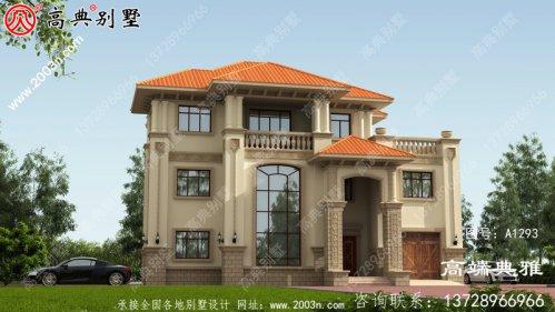 三层独栋别墅设计工程图纸带设计