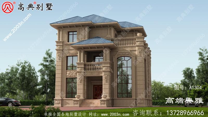 三层别墅设计图纸,欧式别墅设计设计效果图
