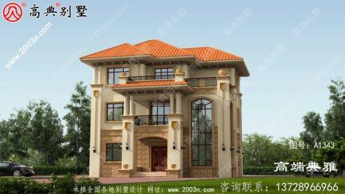 复式别墅的房子设计图,客厅宽敞明亮