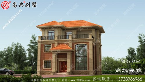 三层别墅设计图纸,简欧别墅设计