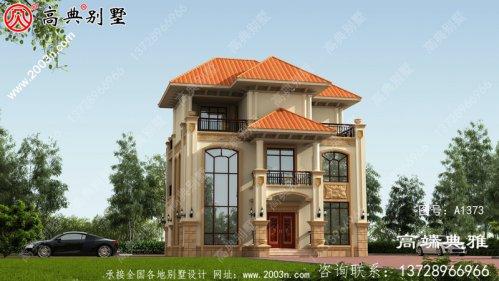 三层别墅房屋设计图,复式客厅设计效果图