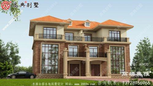 251平大户型豪华三层别墅设计图,附总统套房