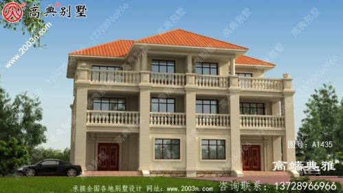 大客厅复式别墅双配拼住宅设计,客厅宽敞明亮