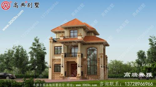 小户型三层建造别墅设计图纸,极高的性价比高