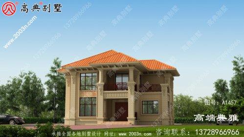 二层小复式小别墅设计图,外型好