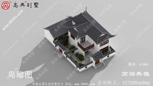 农村房屋设计图,独栋别墅造型设计构造精美