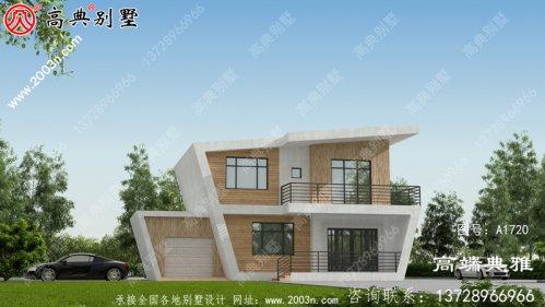 层别墅设计图,房型造型设计简洁漂亮