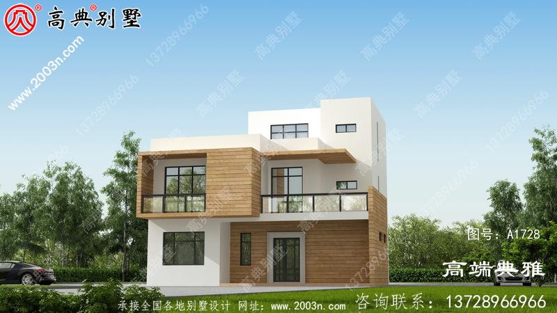 风格三层别墅住宅设计,新农村住宅设计建议