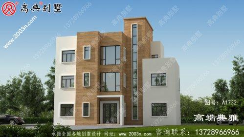 现代三层别墅住宅设计图,新农村住宅设计推荐