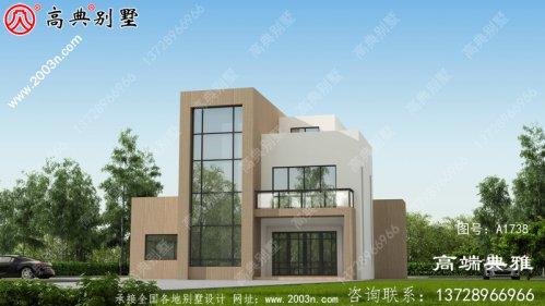 工程建筑别墅设计方案全集,三层别墅设计图强