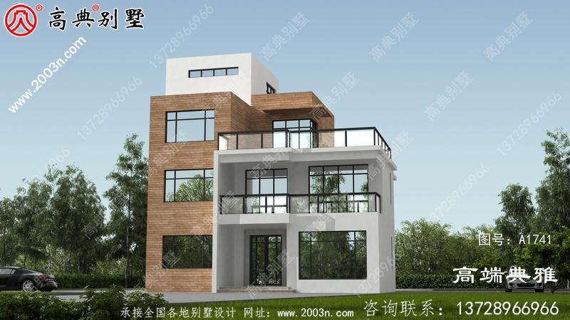 现代别墅设计方案大全,三楼别墅设计图推荐