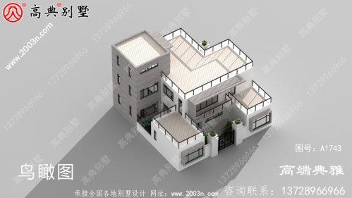 乡村现代四层房屋设计图纸,乡村建造强烈推荐