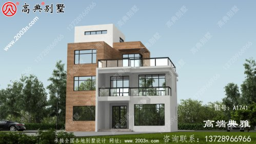 欧式石材别墅设计方案大全,推荐三层别墅设计