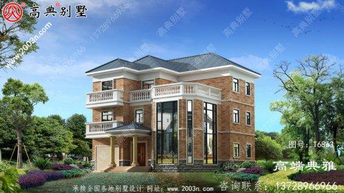 三层自建别墅设计图纸美观实用。